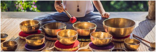 les bols tibétains et les vibrations sonores