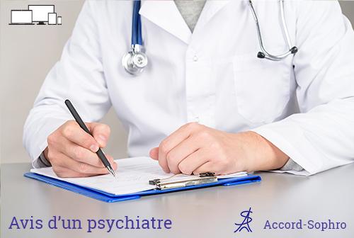 recommandation d'un psychiatre